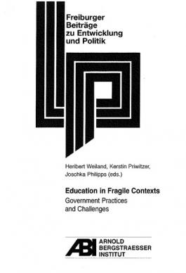 Cover: Education in fragile contexts